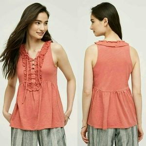 Anthropologie Noronha Tank by Deletta